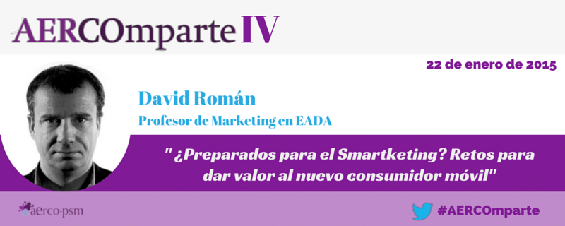 David Roman Eada AERCOmparte Smarketing